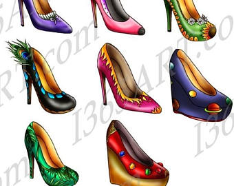340x270 Shoes Off Clipart Etsy