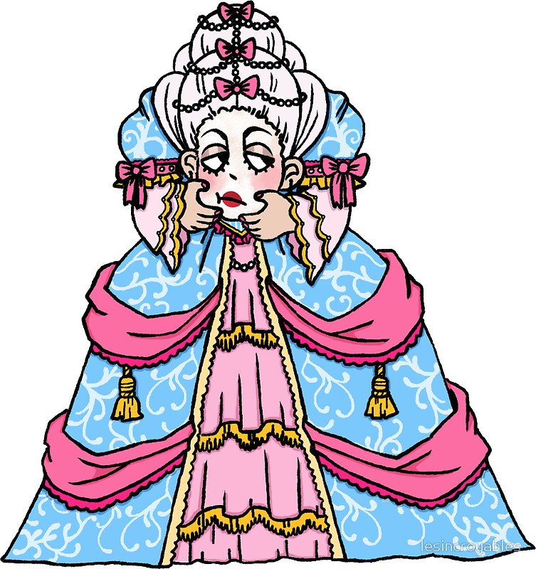 753x800 Headless Marie Antoinette Stickers By Lesincroyables Redbubble