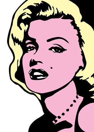 303x425 Marilyn Monroe Pop Art Canvas Art Painting 3624 P.jpg