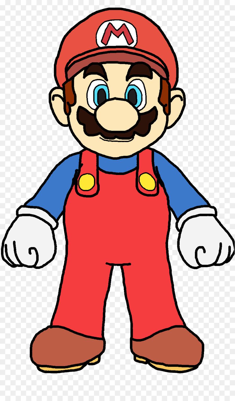 900x1540 Mario Bros. New Super Mario Bros Luigi Clip Art