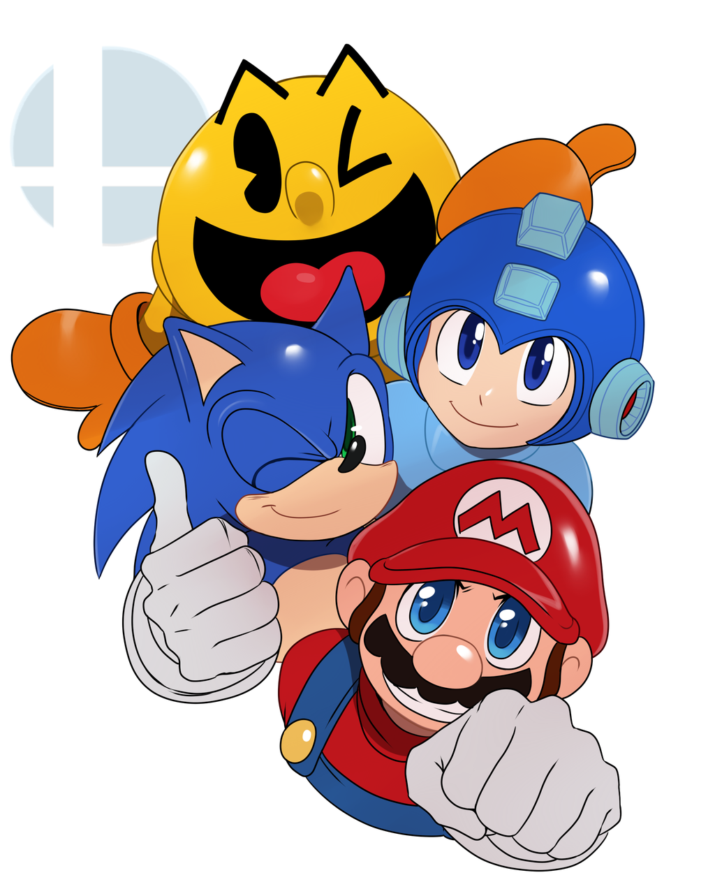 1024x1263 The Big 4 Super Smash Brothers Know Your Meme
