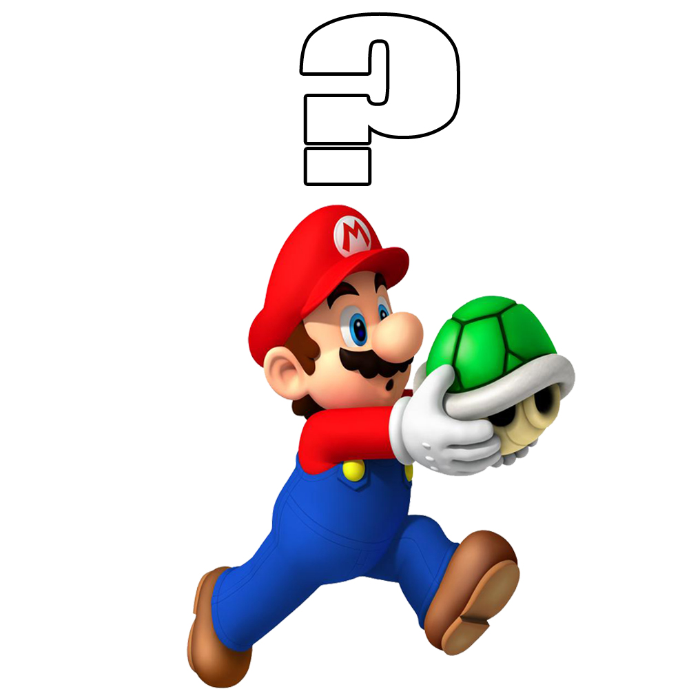 1000x1000 Mario Brothers Line Clipart