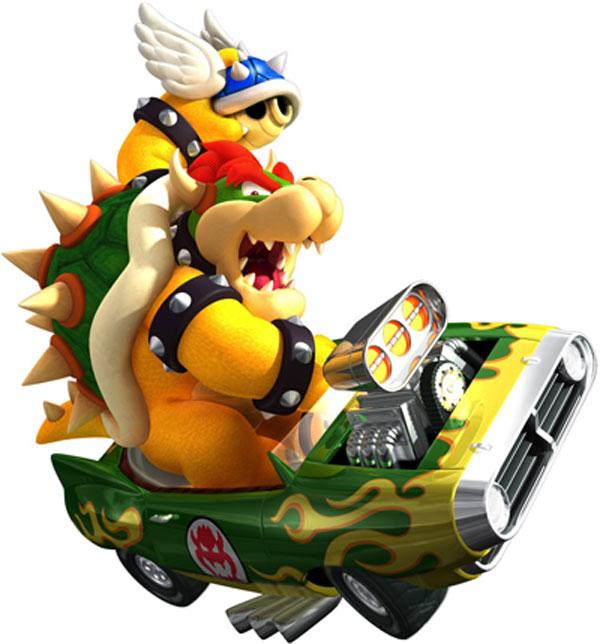 600x644 Mario Kart Clip Art