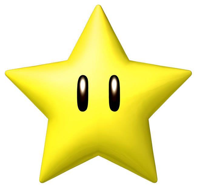 650x620 Mario Star Clipart