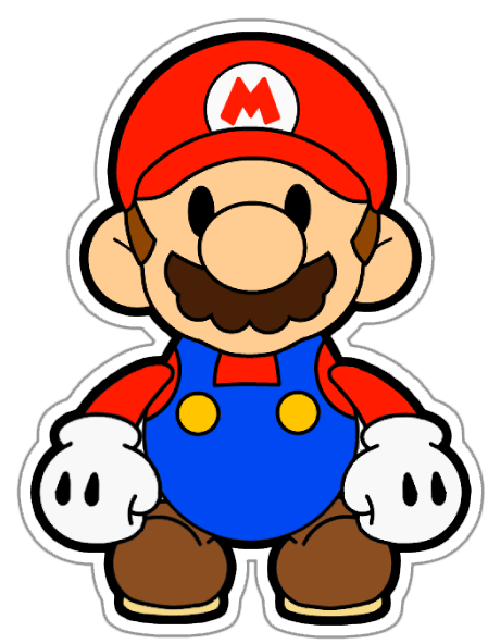 449x592 Collection Of Paper Mario Clipart High Quality, Free