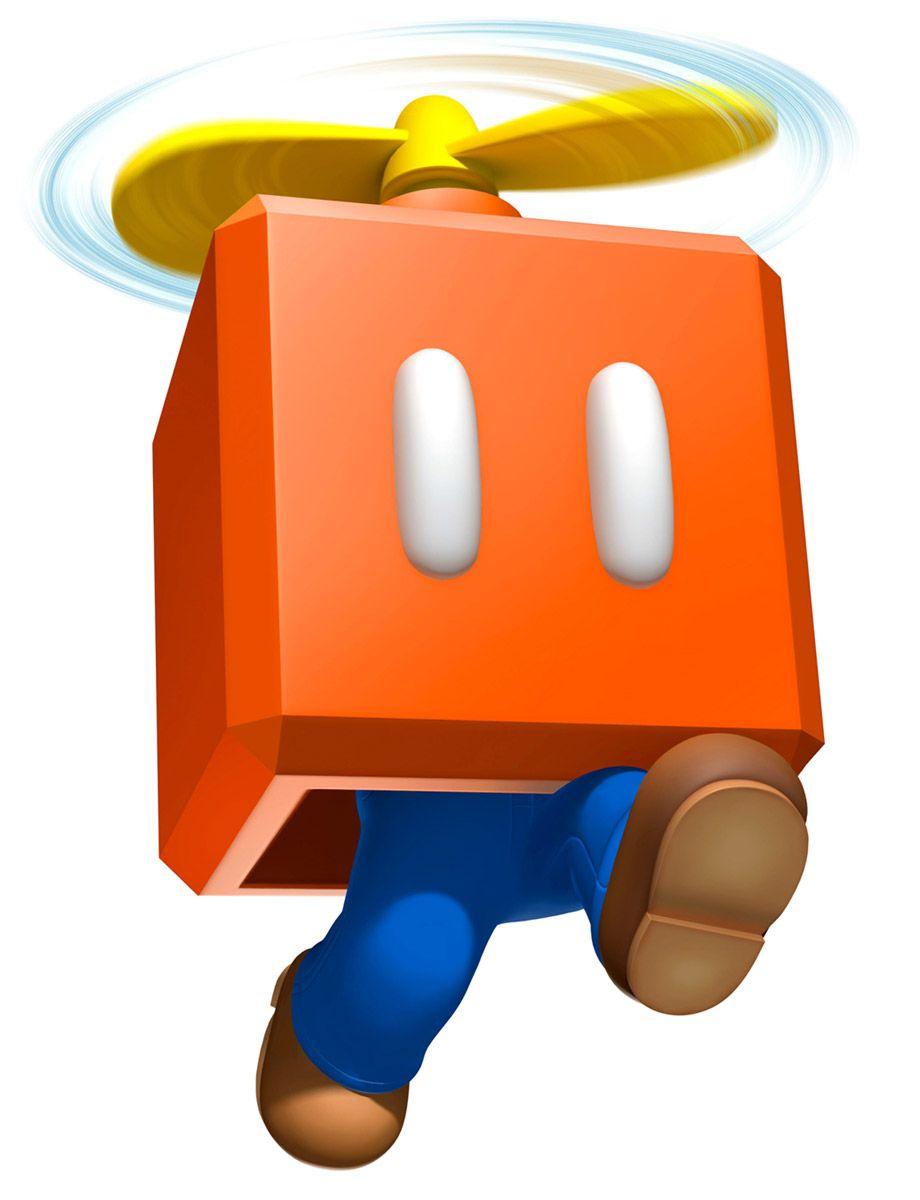 920x1200 Propeller Block Mario Super Mario 3d Land Art References