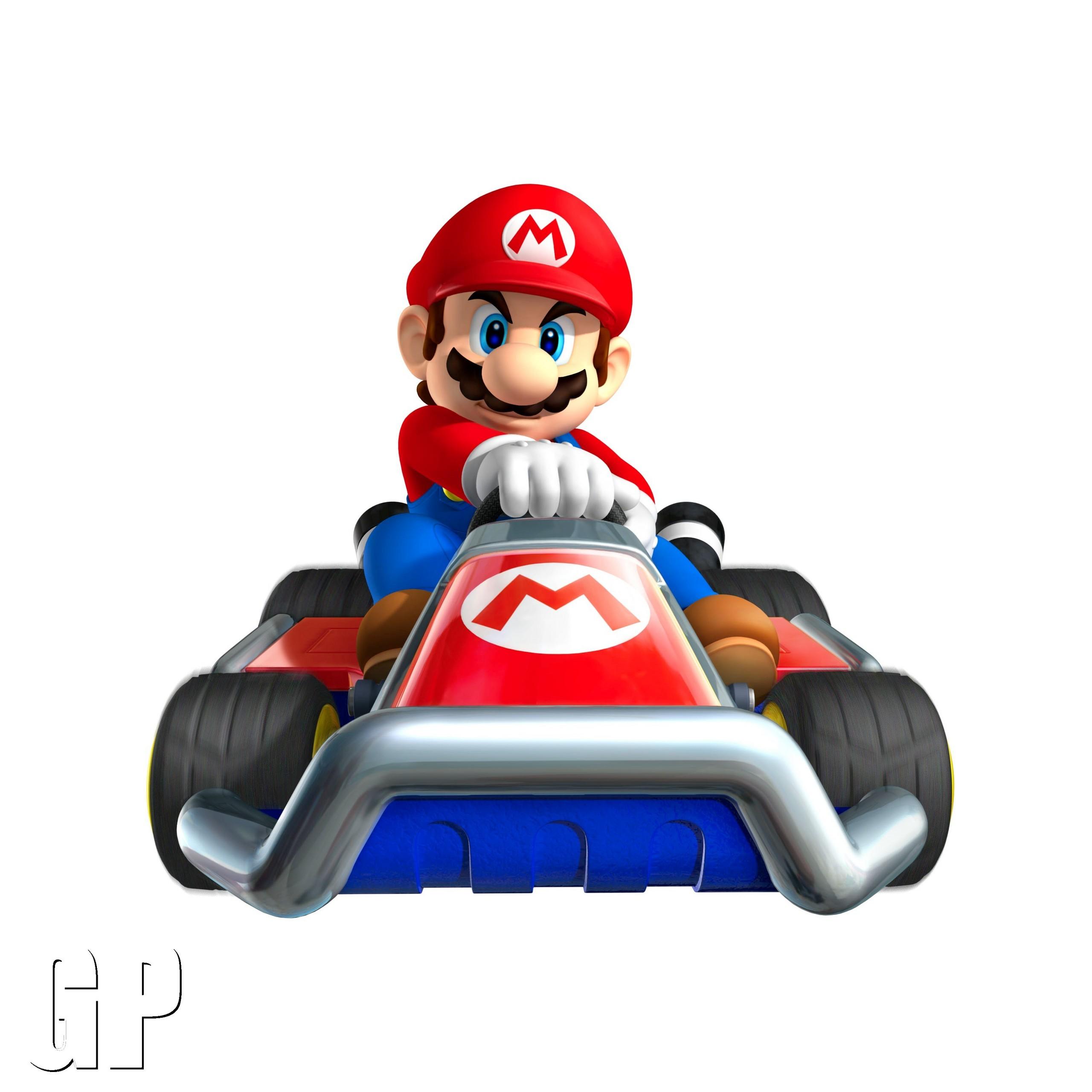 2560x2560 Top 89 Mario Kart Clip Art