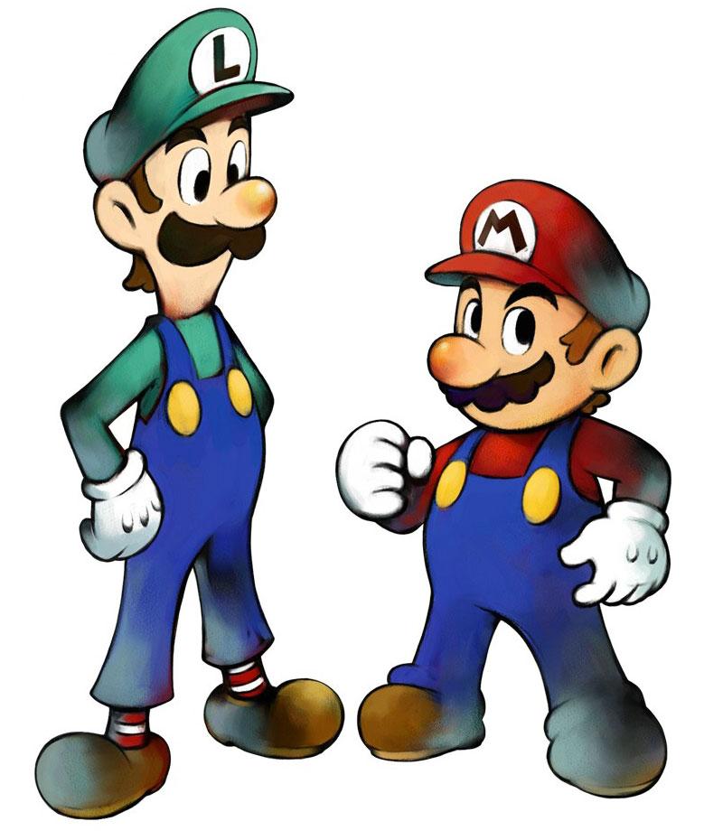 800x930 Luigi Amp Mario