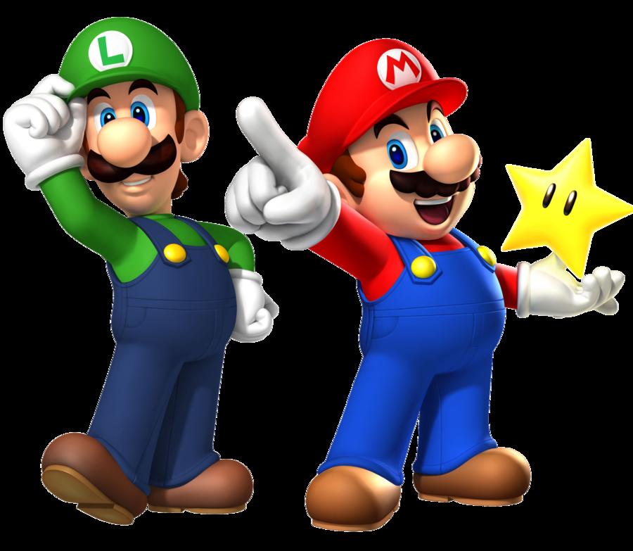 900x783 Mario And Luigi Clipart