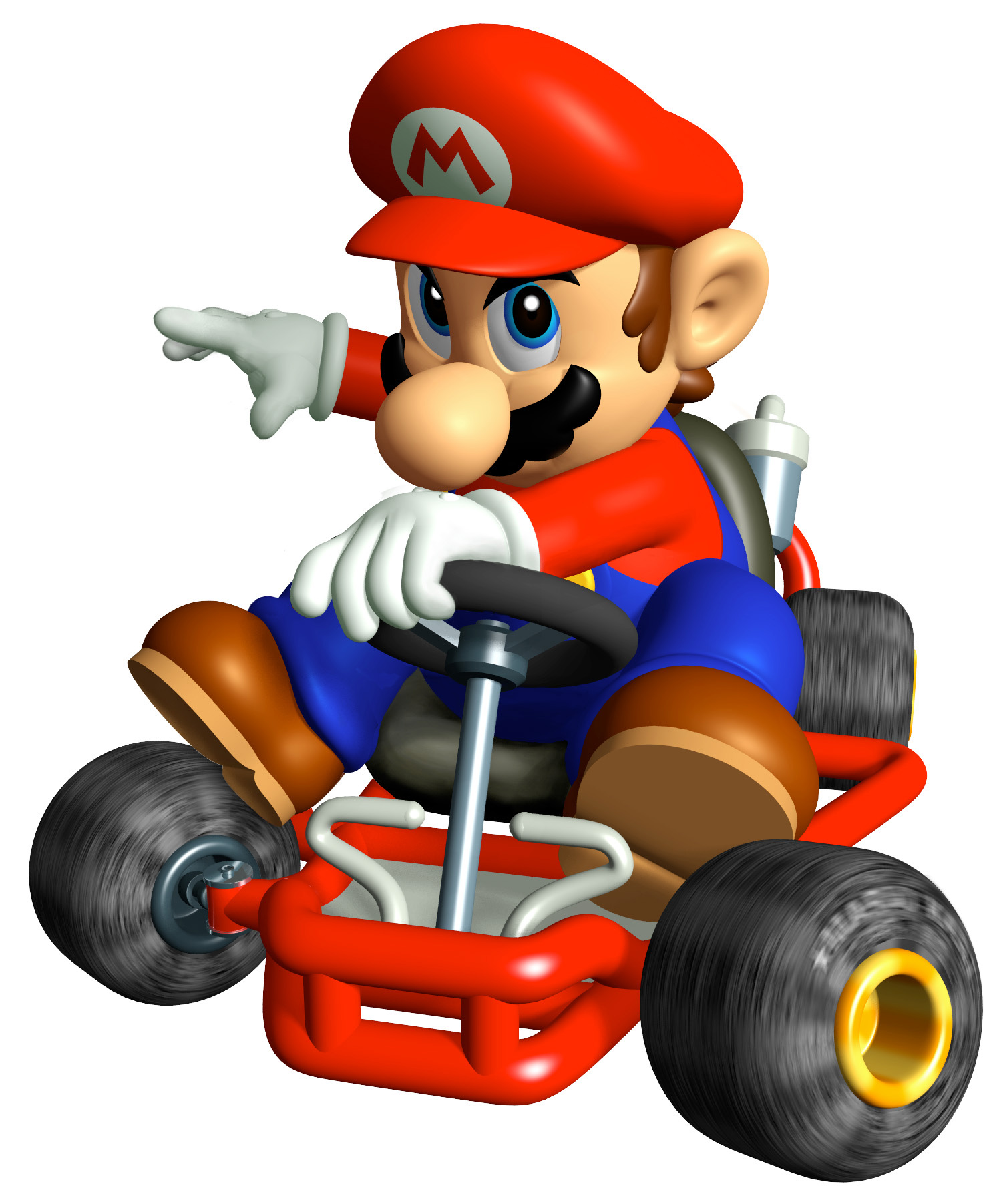 1493x1803 Mario Kart Character Clipart