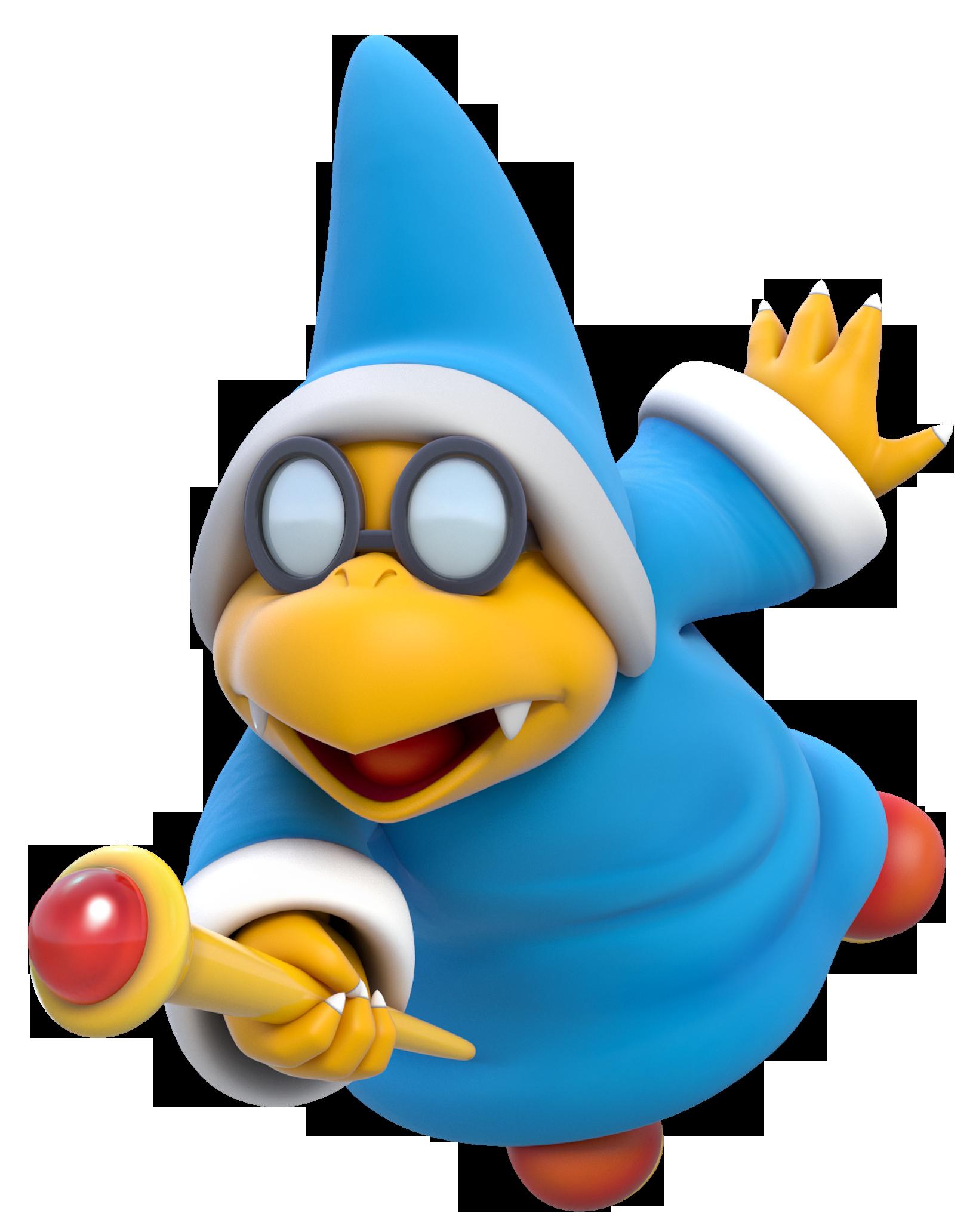 1635x2064 Kamek From Super Mario Bros. Game Art