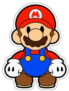 Mario Luigi Clipart