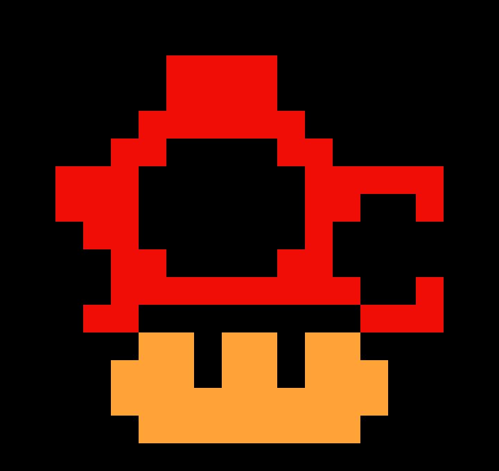 720x680 Mario Mushroom Pixel Art Maker
