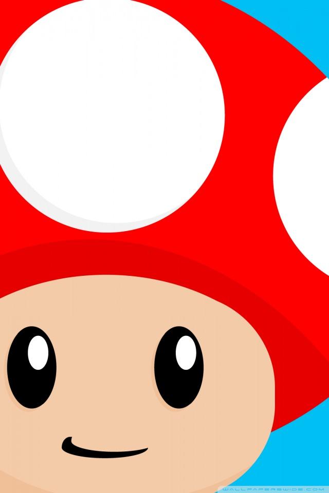 640x960 Mario Mushroom 4k Hd Desktop Wallpaper For 4k Ultra Hd Tv