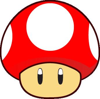 345x341 Mario Clipart Mario Mushroom