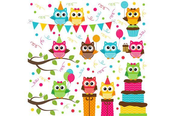 580x386 Digital Owl Party Clip Art Owl Parties, Clip Art And Owl
