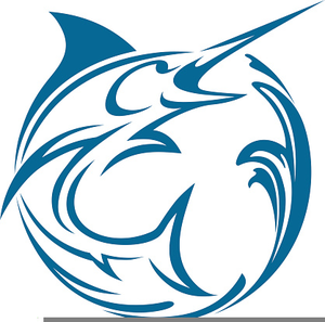 300x297 White Marlin Clipart Free Images