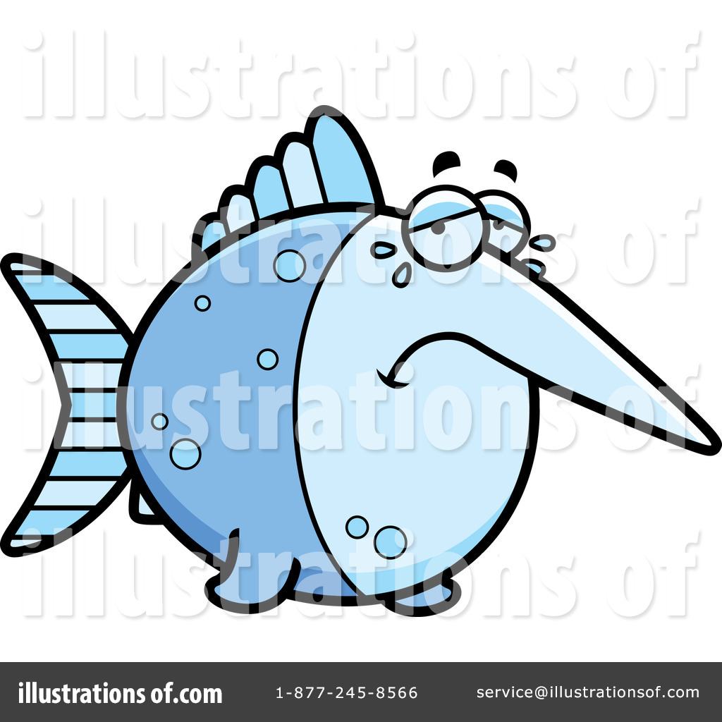 1024x1024 Marlin Clipart Clip Art Of Blue And Black Marlin Fish By