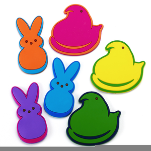 300x300 Free Marshmallow Peep Clipart Free Images