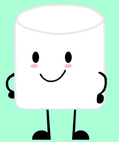 416x498 Cartoon Marshmallow Marshmallow By Stainedusagi