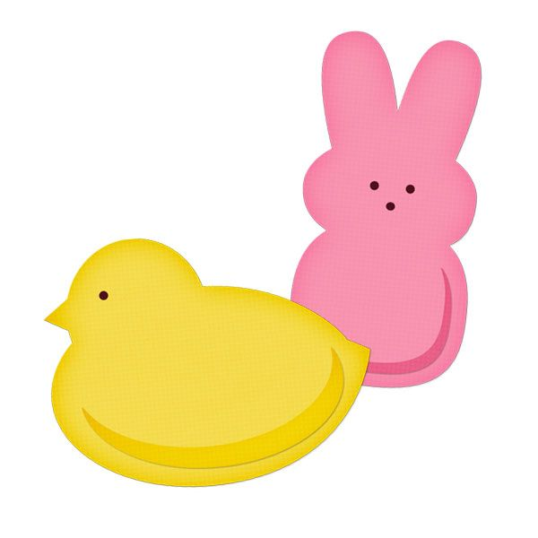 600x600 Easter Peeps Chick Template Classroom Easter Peeps