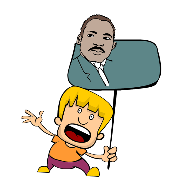 600x630 Martin Luther King Jr Clipart Cliparts Of Martin Luther
