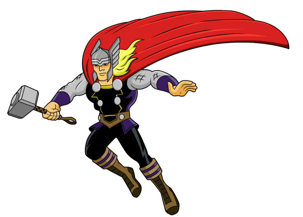 1038x745 Thor Clipart Marvel Pencil And In Color Thor Png
