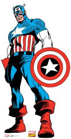 230x450 Captain America Specialty Products Posters For Sale