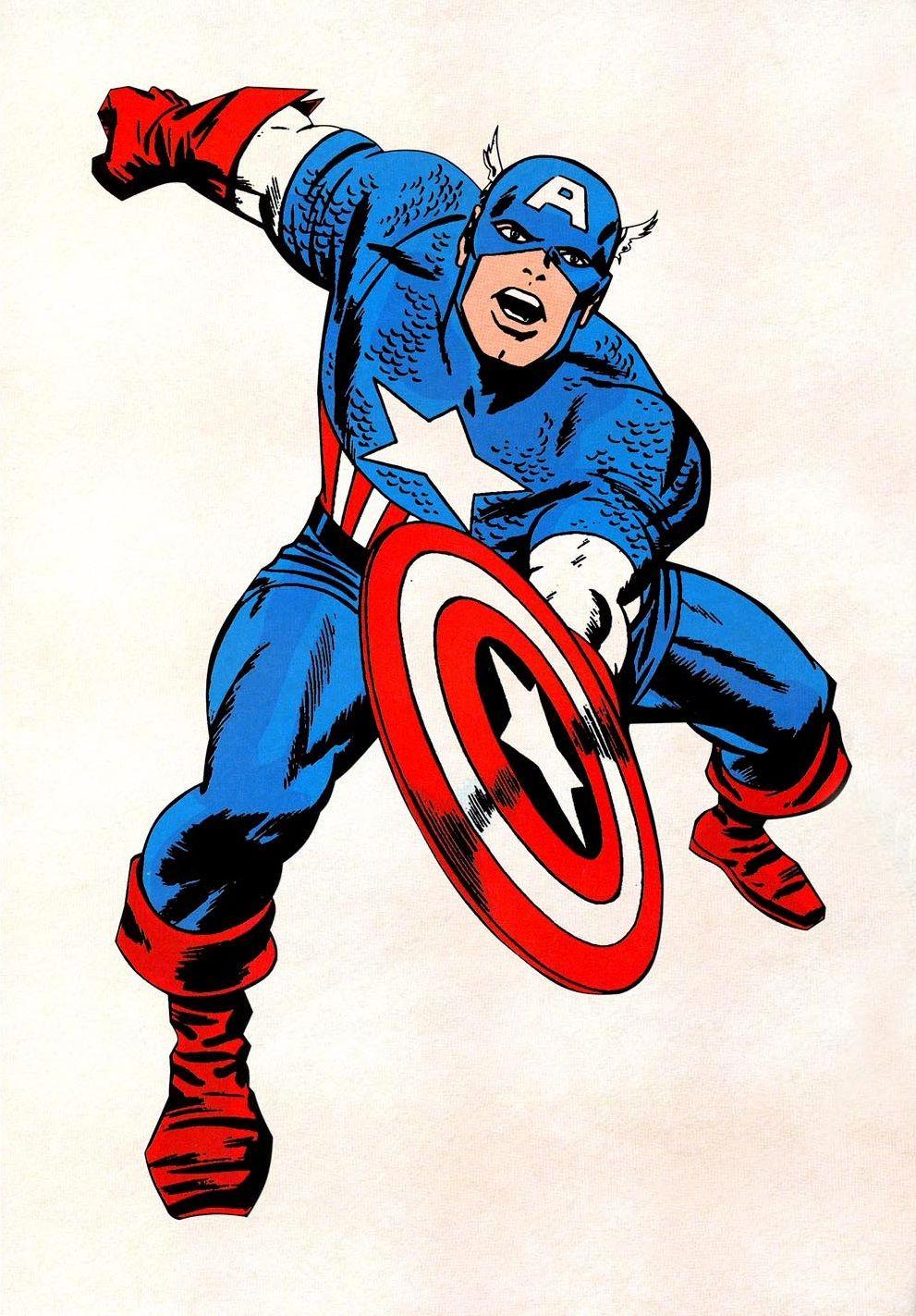 991x1423 Comic Closet Captain America (Comic Costumes) First Appearance