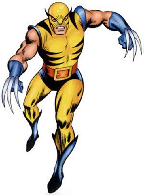 500x675 Wolverine Clipart Marvel