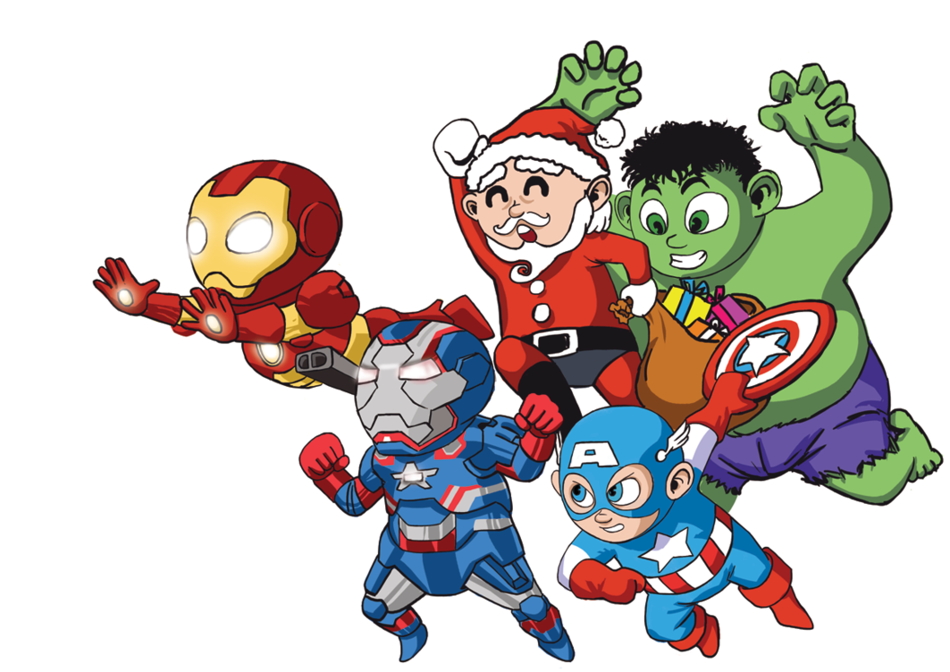 Marvel Superhero Clipart