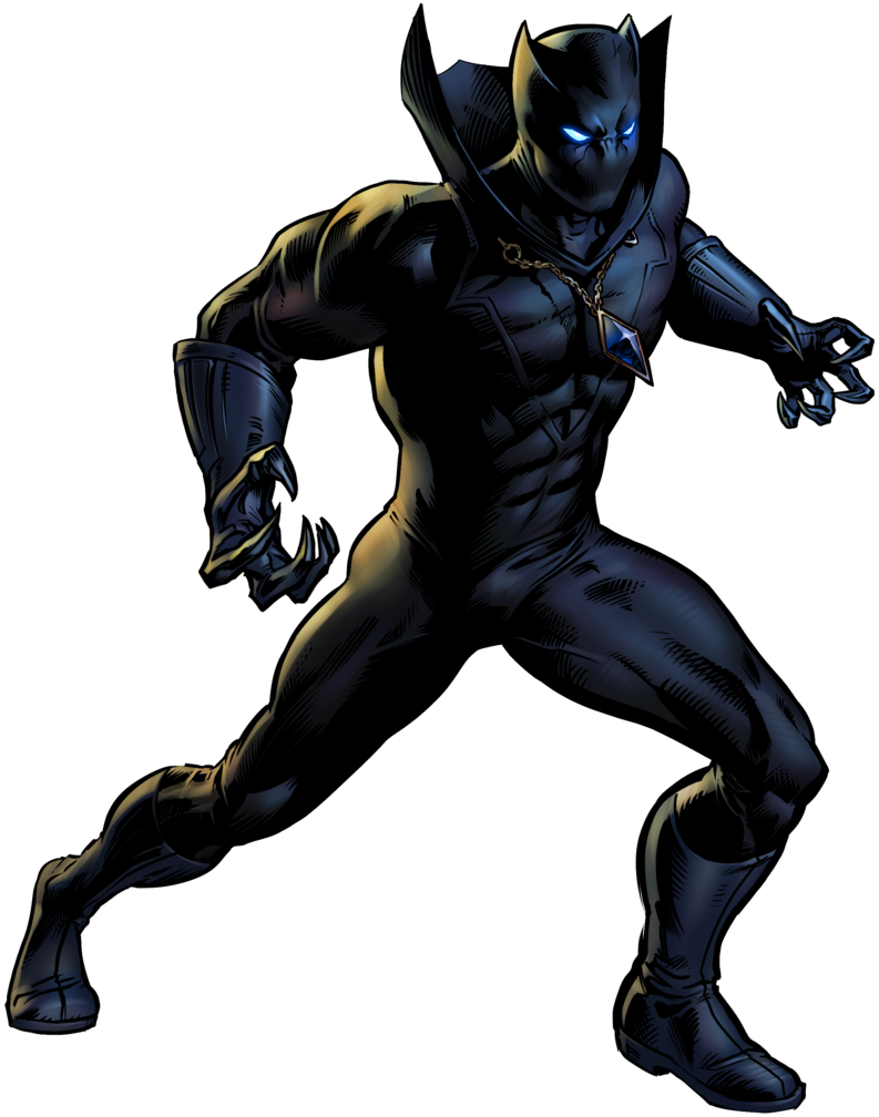 793x1008 Black Panther Clipart Group