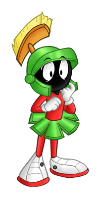 200x394 Marvin The Martian By Gothicraft