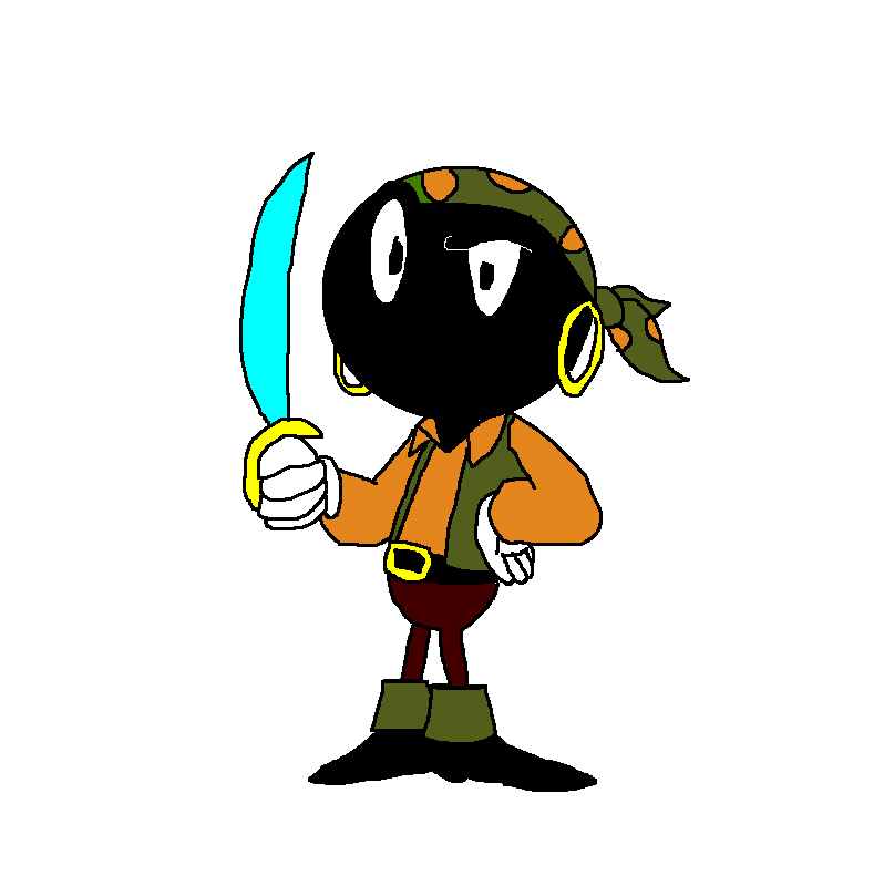 798x800 Pirate Marvin The Martian By Scurvypiratehog