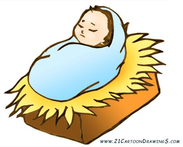 640x512 Just Born Baby Jesus Cliparts And Coloring Pages For Children