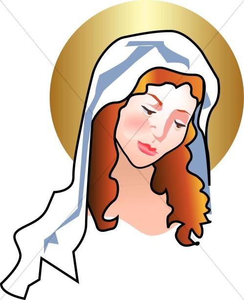 499x612 Mary Gazes Adoringly