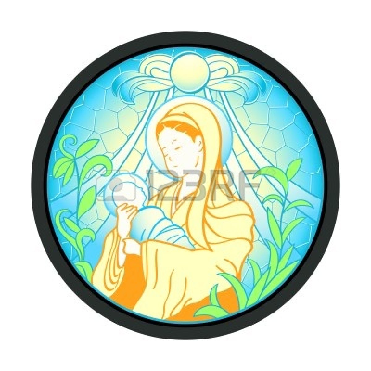1200x1200 With Baby Jesus Clipart Clipart Panda
