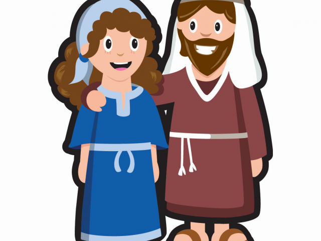 640x480 Mary Joseph Cliparts Free Download Clip Art