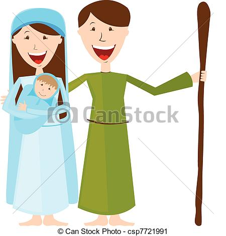 450x470 Mary And Joseph Clipart Collection