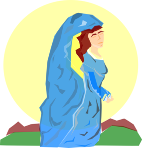 285x297 Mary The Mother Of God Clip Art