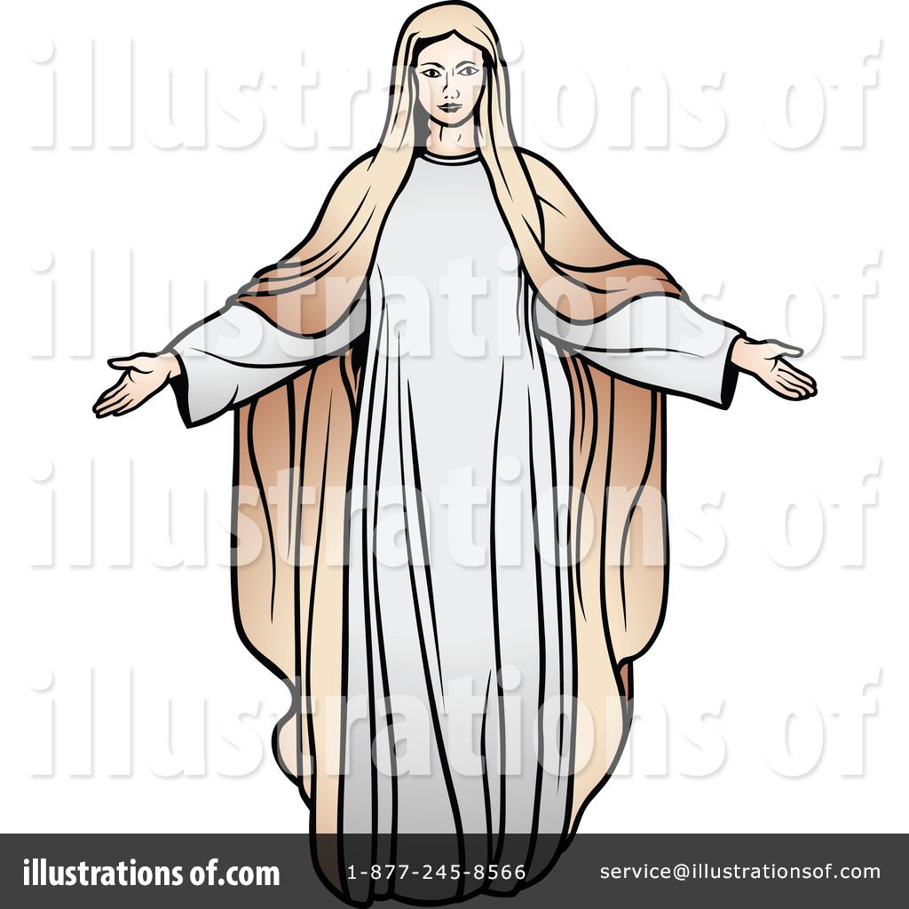 1024x1024 Virgin Mary Clipart