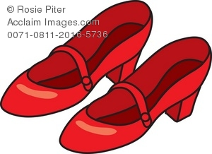 300x218 Women's Red Shoes Royalty Free (Rf) Clip Art Picture