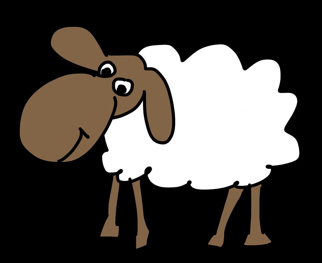 1040x849 Vintage Lamb Cliparts