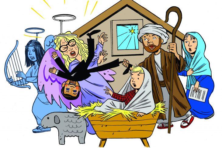 730x487 Jesus, Mary, Joseph And Mikey