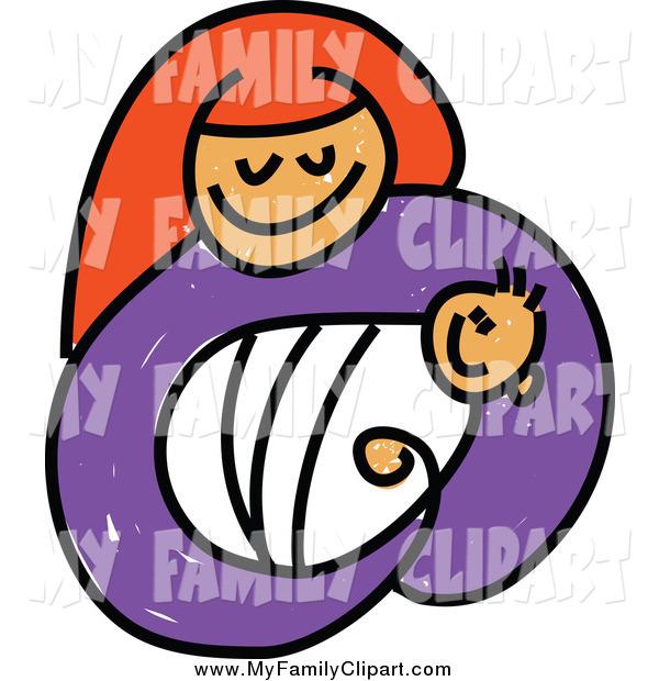 600x620 Clip Art Mother Holding Newborn Clipart