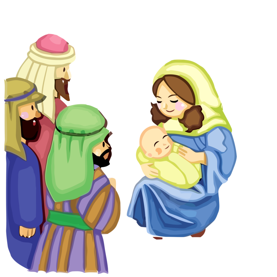 894x894 Jesus And Mother Mary Vector 156 By Minayoussefsaleb