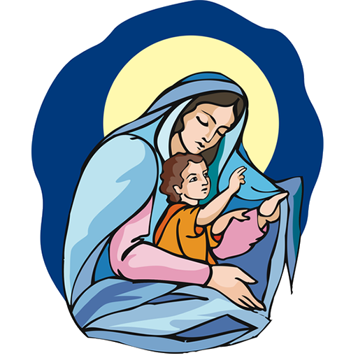 mary mother of jesus clipart at getdrawings com