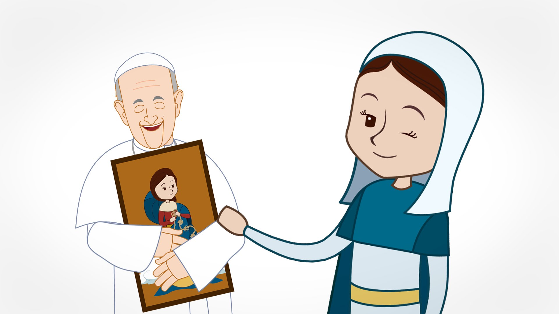 1920x1080 Why We Should Love The Virgin Mary Pope Francis Minute