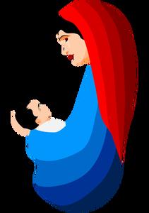 211x300 589 Religious Clip Art Jesus Mary Magdalene Public Domain Vectors
