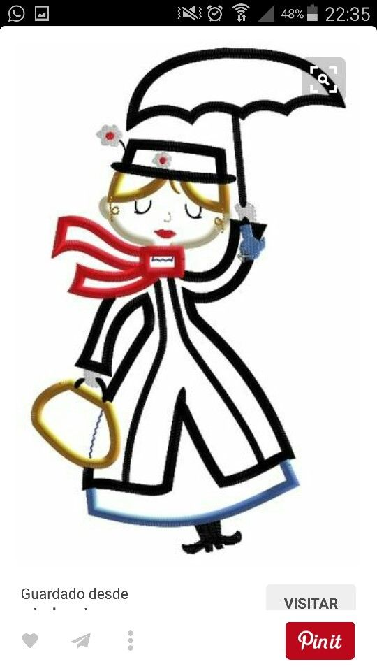 Mary Poppins Clipart